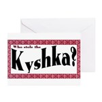 Kyshka Greeting Cards (Pk of 10)
