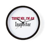 Trust Me I'm an Inspector Wall Clock