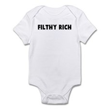 Filthy rich Infant Bodysuit