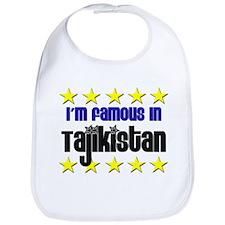 I'm Famous in Tajikistan Bib