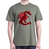 Red Dragon Tee (Dark)