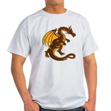 Gold Dragon Tee (Light)