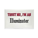 Trust Me I'm an Illuminator Rectangle Magnet (10 p