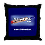 Cricket Web Throw Pillow
