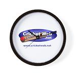 Cricket Web Wall Clock