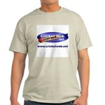 Cricket Web Ash Grey T-Shirt