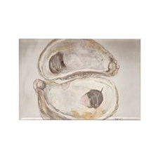 Balanced Oysters Rectangle Magnet (10 pack)
