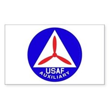 Civil Air Patrol Seal Rectangle Decal