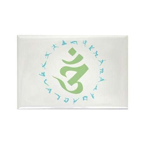 Om Symbol Rectangle Magnet (10 pack)