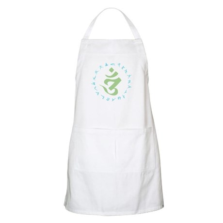 Om Symbol BBQ Apron