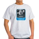 Airhead Boxer Motorcycle Engine Ash Grey T-Shirt