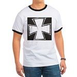 Iron Cross Sketch Ringer T