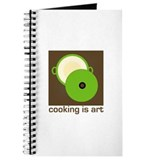 cooking is art Journal