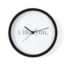 i like you. Wall Clock
