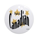 Canada Keepsake (Round)