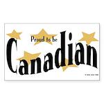 Canada Rectangle Sticker