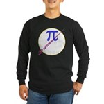 Pi-receding Long Sleeve Dark T-Shirt