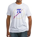 Pi-receding Fitted T-Shirt