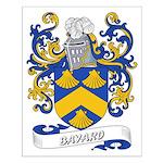 Bayard Coat of Arms Small Poster