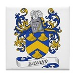 Bayard Coat of Arms Tile Coaster