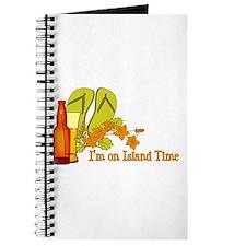 I'm On Island Time Journal
