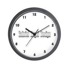 Gabriel Angel Design Wall Clock