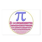 Pi-250 Postcards (Package of 8)