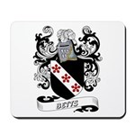 Betts Coat of Arms Mousepad