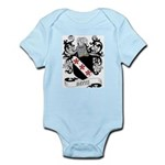 Betts Coat of Arms Infant Creeper
