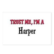 Trust Me I'm a Harper Postcards (Package of 8)