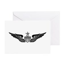 Sr. Aviator Greeting Cards (Pk of 10)