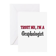 Trust Me I'm a Graphologist Greeting Cards (Pk of