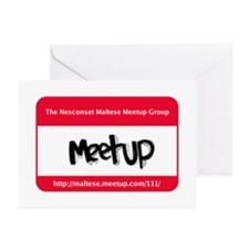 Funny Meetup Greeting Cards (Pk of 10)