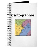 Cartography Journals & Spiral Notebooks