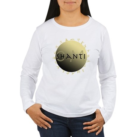 Om Shanti Women's Long Sleeve T-Shirt