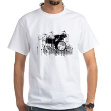Drum Set Graffiti Shirt