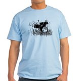 Drum Set Graffiti T-Shirt