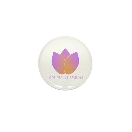 Lotus Mini Button (10 pack)