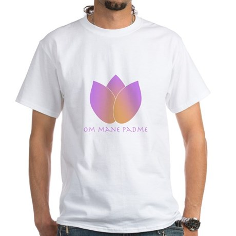 Lotus White T-Shirt