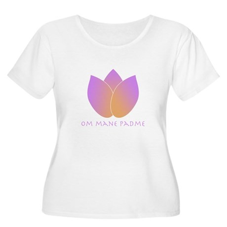 Lotus Women's Plus Size Scoop Neck T-Shirt