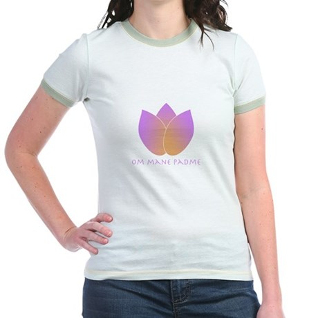 Lotus Jr. Ringer T-Shirt
