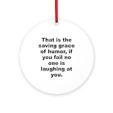 That grace Ornament (Round)