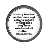 Abba eban Wall Clock