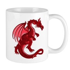 Red Dragon Small Mug