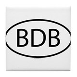 BDB Tile Coaster
