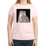 Great Horned Owl Women's Light T-Shirt