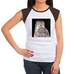 Great Horned Owl Women's Cap Sleeve T-Shirt