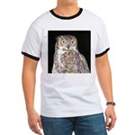 Great Horned Owl Ringer T