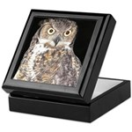 Great Horned Owl Keepsake Box