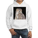 Great Horned Owl Hooded Sweatshirt